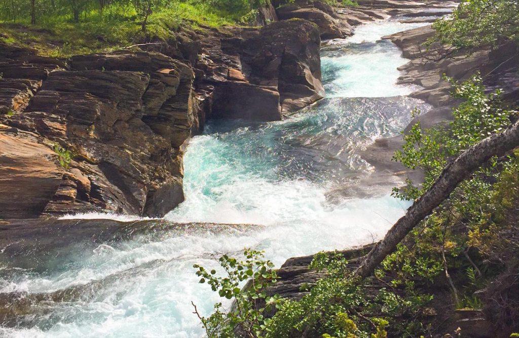 naturland fors fiske kanot